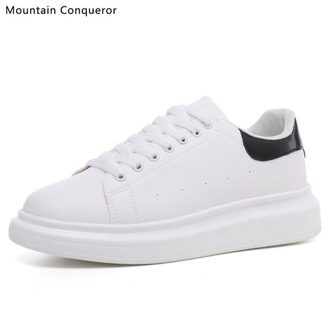 Mountain Conqueror men shoes new casual shoes men flat shoes with low-cut sneakers small white shoes breathable size 39-44