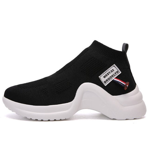 2019 mode femmes Chaussures femme décontractées Basket Femme respirant zapatos Mujer plate-forme Chaussures femmes baskets Chaussures femme