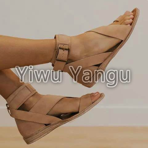 2020 Women Sandals New Summer Shoes Woman Heels Sandals for Wedges Shoes Female Casual Shoes Gladiator Sandalias Mujer