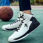 Breathable Sport Shoes Unisex High-top Jordan Basketball Shoes 47 Men Outdoor Sneakers 46 Women Wear Resistant Cushioning Shoes