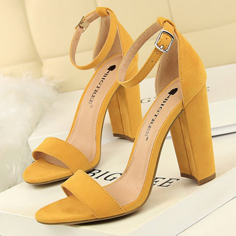 2019 New Women Sandals Patent Leather Women High Heels Shoes Sexy Women Pumps Fashion Wedding Shoes