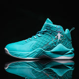 Jordan Basketball Shoes for Men Cushioning Basketball Sneakers Men's High-top Outdoor Sports Sneakers Breathable Athletic Shoes