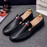 Men shoes casual slip-on male driving moccasins breathable comfy tide loafers outdoor walking flats non-slip leisure classic