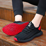 Summer 2020 Flyknit Trend Casual Shoes Men Sneakers Hollowing Out Men Shoes Lightweight Lace Up Sneakers Men Footwear Krasovki