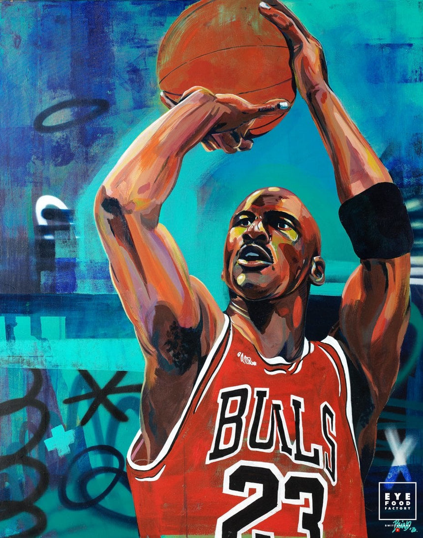 Buzzer beater - Éditions Limitées - Ballon, Basketball, Chicago, Graffiti, Pop
