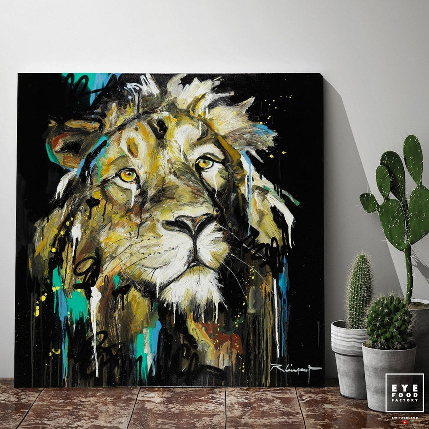 Dreaming Freedom - Éditions Limitées - Animal, Jungle, Lion, Lionceau, Lionne