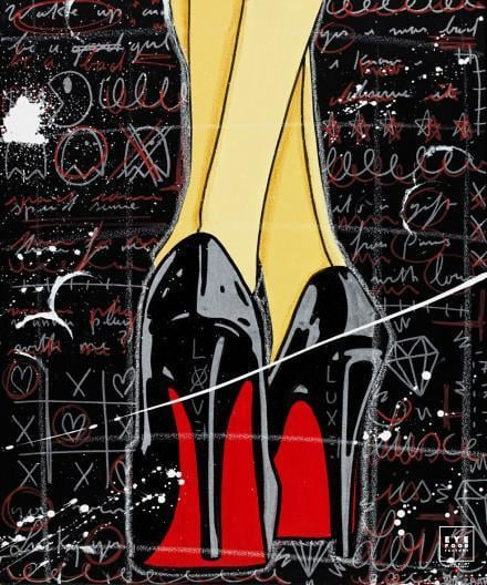 From Paris with love - Éditions Limitées - Chaussures, Comics, Girl, Louboutin,