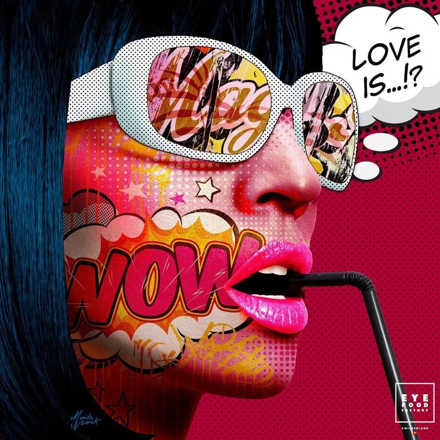 Love is all - Éditions Limitées - Chien, Comics, Mignon, Offline, Pop Art