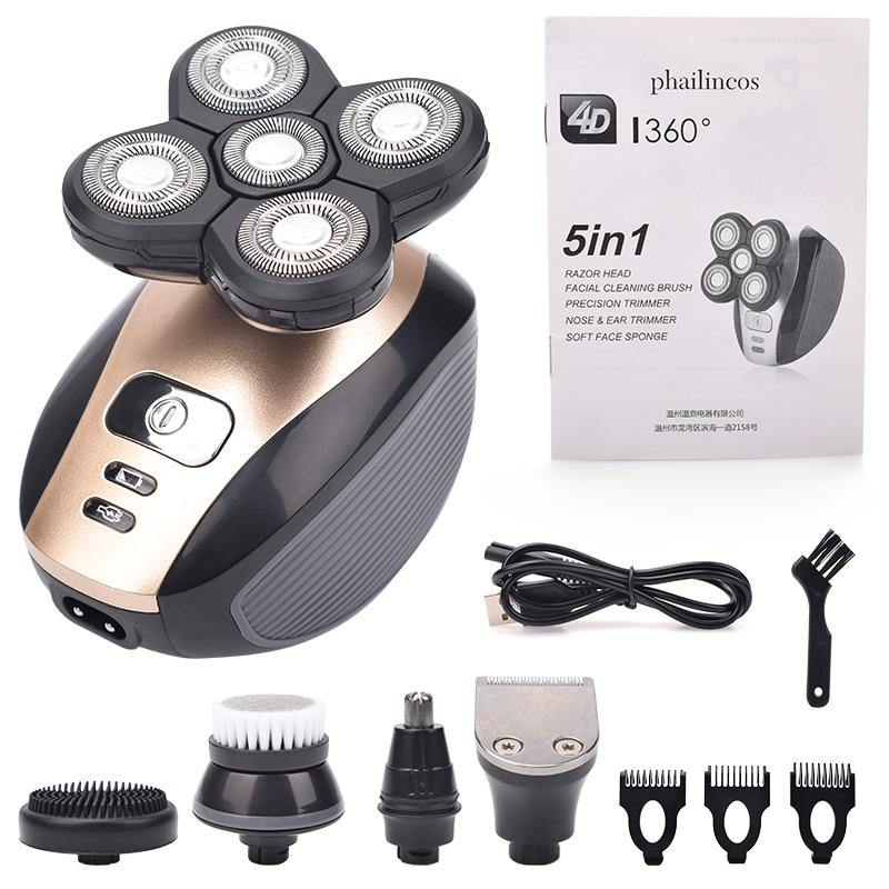 Award Winning 5 In 1 Electric Shaver - KCEAN