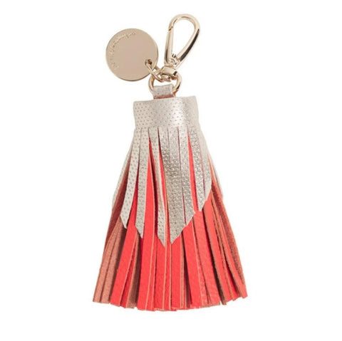Leather Keyring or Bag Accessory