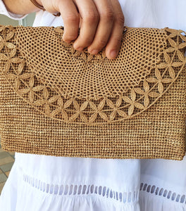 Tanora Clutch in Tea