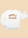 Mama's Blessing White Toddler Sweatshirt