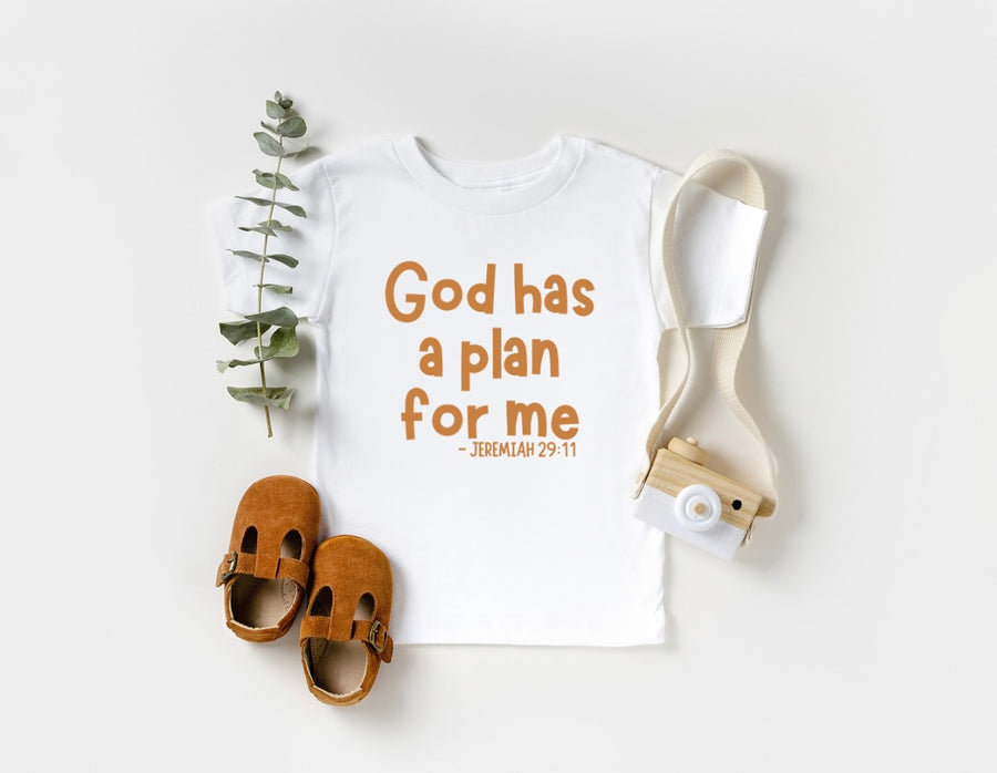 God Has A Plan For Me Jeremiah 29:11 - Tee