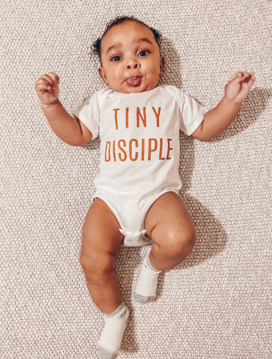 Tiny Disciple - Indigo Bodysuit