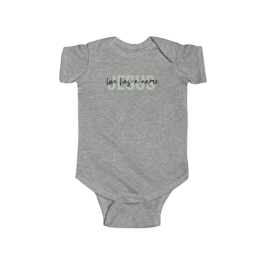 Love Has A Name Mint - Bodysuit