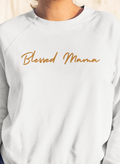 Blessed Mama Black Sweatshirt