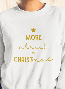 More Christ In Christmas Forest Sweatshirt