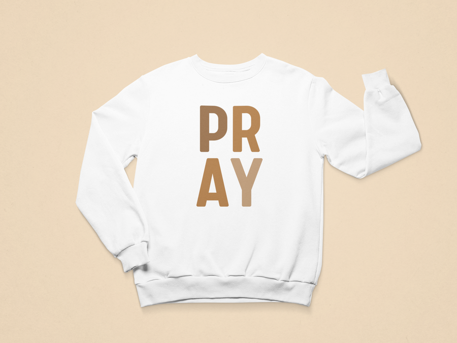 Pray [Block] Toddler Sweatshirt