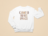 In His Image Toddler Sweatshirt