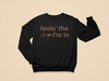 Lovin' The Skin I'm In Toddler Sweatshirt