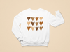 Hearts Multicolor Toddler Sweatshirt