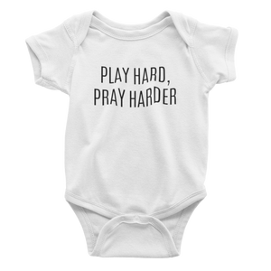 Play Hard, Pray Harder - Bodysuit