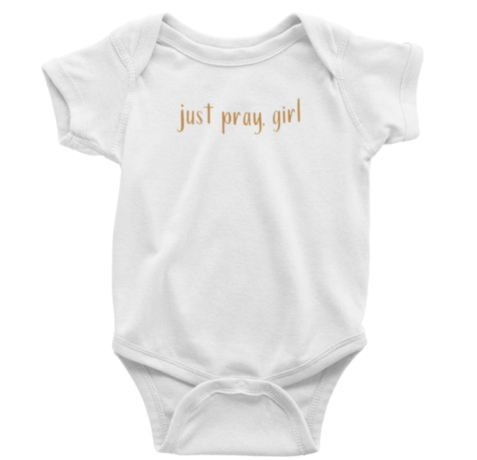 Just Pray, Girl Caramel - Bodysuit