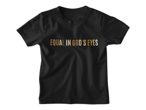 Equal In God's Eyes White Multicolor - Tee
