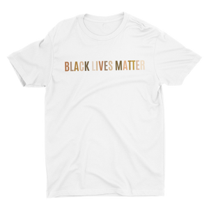 Black Lives Matter Black Multicolor Crew Neck