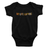 My Life Matters Black Multicolor - Bodysuit