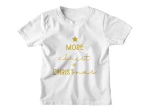 More Christ In Christmas - Forest Tee