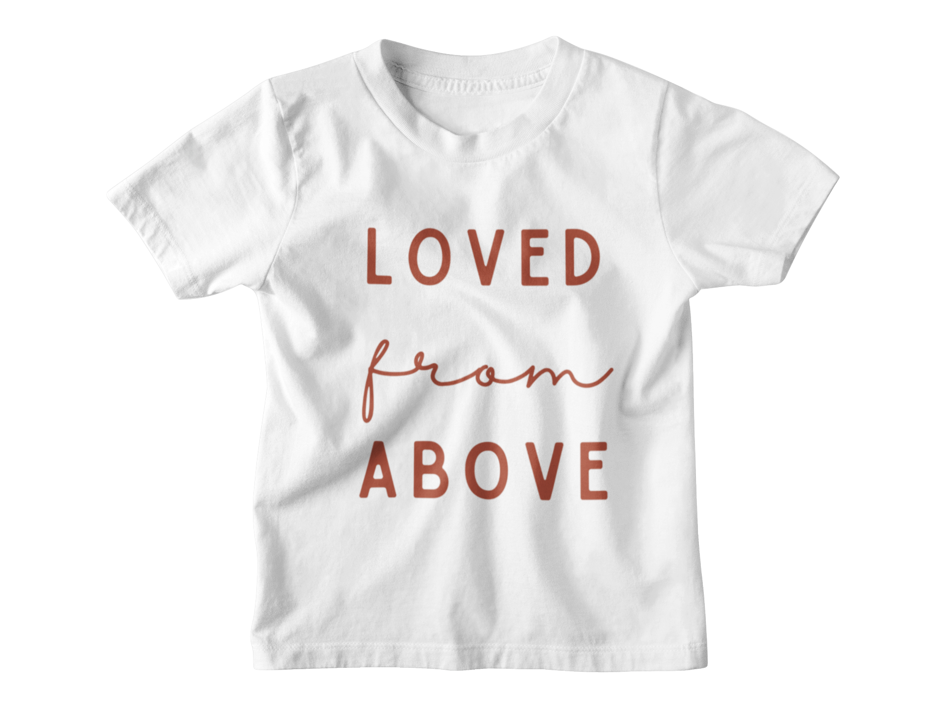 Loved From Above - Black Tee