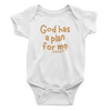 God Has A Plan For Me Jeremiah 29:11 - Bodysuit
