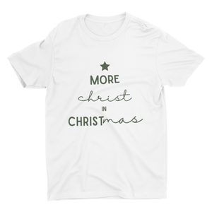 More Christ In Christmas Forest Crew Neck