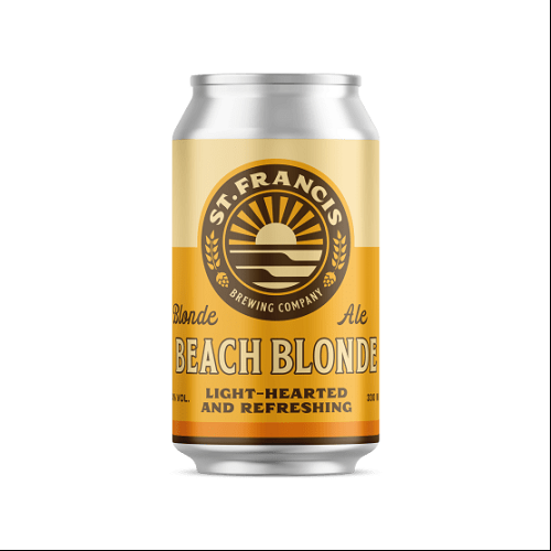 St. Francis Beach Blonde Can 330ml