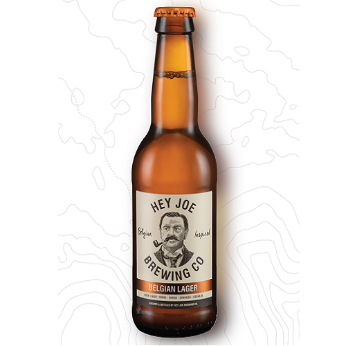 Hey Joe Brewing Co. Belgian Lager 340ml