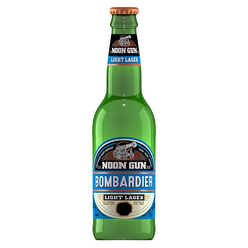 Noon Gun Bombardier Light Lager 340ml