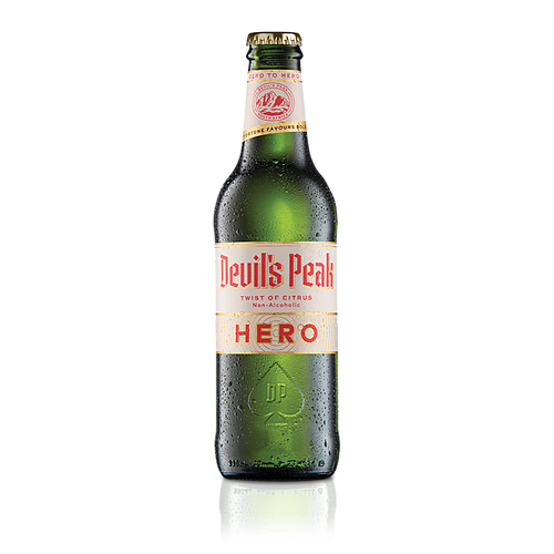 Devil's Peak Hero Twist of Citrus Non-Alcoholic Beer 330ml