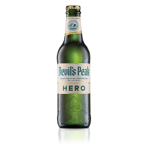 Devil's Peak Hero Non-Alcoholic Beer 330ml