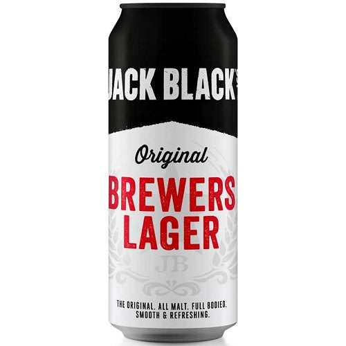 Jack Black's Brewers Lager Can 440ml