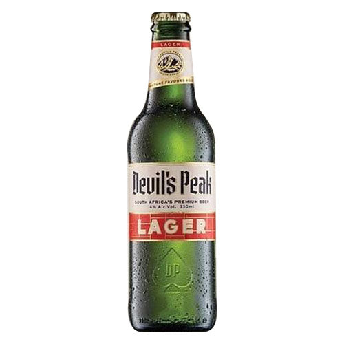 Devil's Peak Lager 330ml