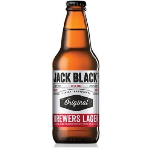 Jack Black's Brewers Lager 340ml