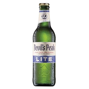 Devil's Peak Lite Lager 330ml