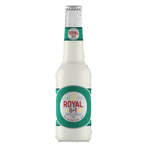 Royal G&T Dry Lemon non-alcoholic 275ml