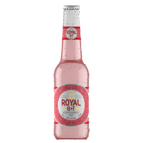 Royal G&T Rose non-alcoholic 275ml