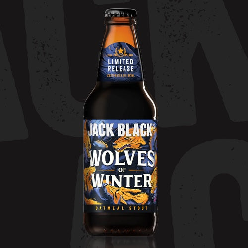 Jack Black's Wolves of Winter Oatmeal Stout 340ml