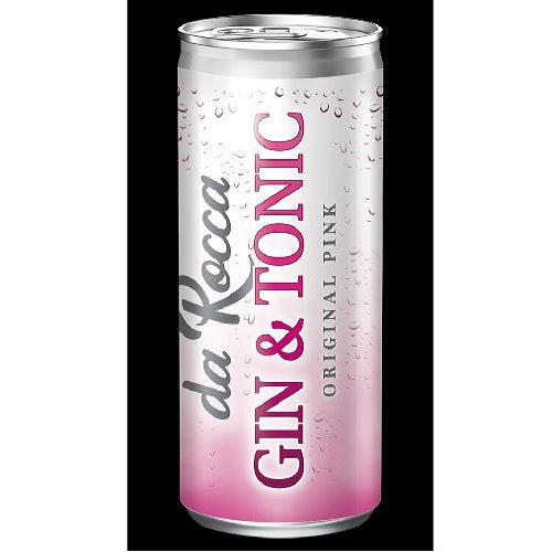 da Rocca Pink Gin & Tonic 300ml can