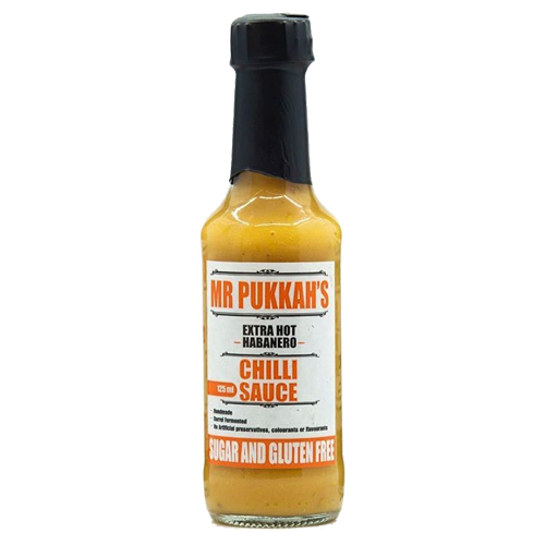 Mr Pukkah's Extra Hot Habanero 125ml
