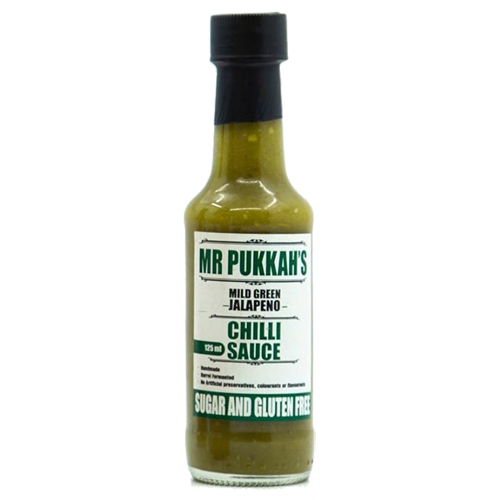Mr Pukkah's Jalapeno 125ml