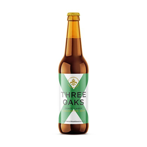 Franschhoek Beer Co. Three Oaks Lager 340ml